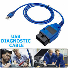 USB Cable KKL VAG-COM 409.1 OBD2 II OBD Diagnostic Scanner For VW/Audi/Seat VCDS