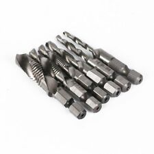 Hex HSS High Speed Steel M3 M4 M5 M6 M8 M10Metric Composite Tap Drill Bit Tap G