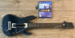 Guitar Hero Live Bundled With Dongle & Guitar Controller For Sony PS4 FreePost