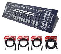Chauvet DJ OBEY40 Universal DMX-512 Light Controller+10 Ft.& 25 Ft. DMX Cables