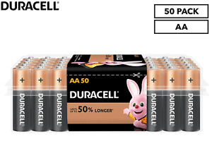 Duracell Coppertop AA Battery 50-Pack - FREE SHIPPING
