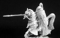 1x VINCENTE CHEVALIER - WARLORD REAPER miniature rpg jdr horse cheval 14440