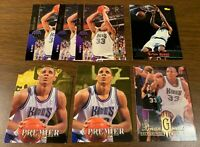 BRIAN GRANT 27 card lot- game used, rookies, inserts, SP die cut, gold auto more
