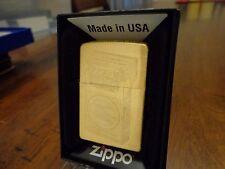 LUCKY STRIKE PACK GRAPHIC BRASS ZIPPO LIGHTER NEAR MINT IN BOX 2008 RARE