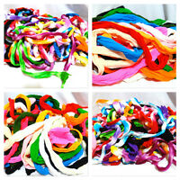 DIY 10 Multi Color Nylon Stocking Flower Making Material Floral Craft Pieces