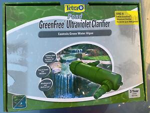 TetraPond UVC-9 GreenFree UV Clarifiers For Up To 1800 Gallons 9-Watt NEW