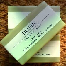 Savon du Midi 3er Pack Tilleul Lindenblüte Karité-Seife 3x100 Sheabutter Vegan