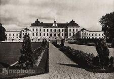 1924 Vintage SCANDINAVIA Photo Art Sweden Uppland Drottningholm Palace Landscape