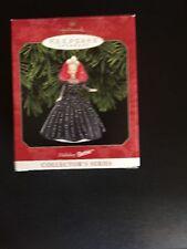 Hallmark Keepsake Ornament Holiday Barbie 1998 Collectors Series
