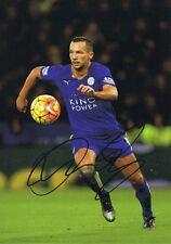 Signed Danny Drinkwater Leicester City Autograph Photo Premier League Champion