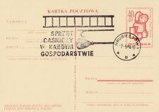 Poland postmark HRUBIESZOW - fire prevention