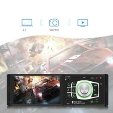 4.1'' 1 Din Car MP5 MP3 Player Radio Stereo Bluetooth BT USB AUX + Remote