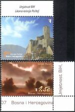 Bosnia Herzegovina 2007 Art/Artists/Paintings/Buildings/Architecture 2v (n44298)