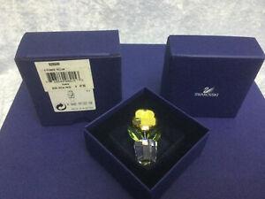 Swarovski Flower, A (Yellow) - 9460000158 / 628568. Retired 2005.  MIB