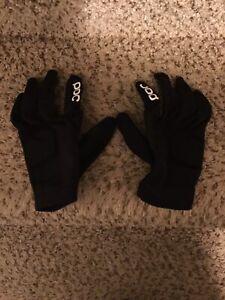 POC Essential DH Protective Gloves - Uranium Black Small