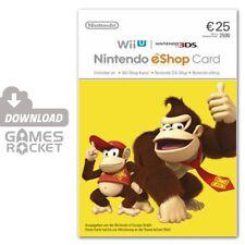 Nintendo eShop Card 25 Euro  Guthaben Code - 2DS, 3DS, Wii U, Switch   DE & EU