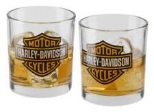 Harley-Davidson Core Bar & Shield Double Old Fashioned Set - 10 oz. HDX-98707