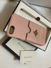 New Gucci Leather Pink Iphone 7 Case