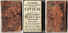 Kreittmayr: Codex Maximilianeus Bavaricus Civilis, Churbairisches Landrecht 1794