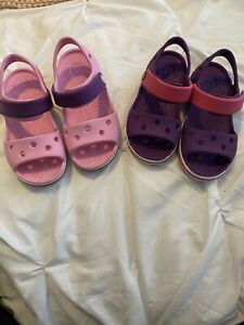 girls crocs sandals