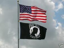 LOT 3' X 5' U.S.  AMERICAN & US  POW MIA  FLAG 3X5