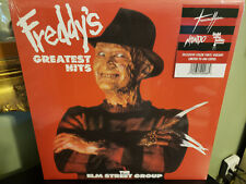 Elm Street Group - Freddy's Greatest Hits LP striped colored vinyl Mondo Krueger
