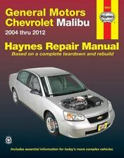 General Motors Chevrolet Malibu 2004 Thru 2012 (Paperback or Softback)