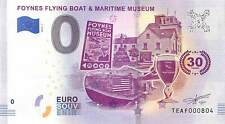 Foynes Flying Boat Museum 30th Anniversary Commemorative 0 Euro Banknote