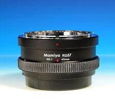 Mamiya RZ67 No.1 Extension Tube 45mm Zwischenring bague allonge - (102027)
