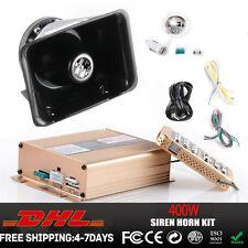 New 400W G1 Emergency Warning Siren Loud Speaker & E400C Control Box PA System