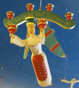Großer Schwebe-Engel mit Joch Schwebeengel Taufengel Taufe Fachhandel Erzgebirge