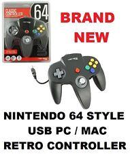 Retrolink BLACK USB Nintendo 64 Style PC / MAC Joystick MODEL : RB-N64-861 [03]
