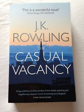 The Casual Vacancy Paperback Book by J.K Rowling