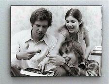 Rare Framed fun Star Wars Luke Leia Han in box of Chocolates Photo. Giclée Print