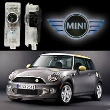 2PCS LED Light Logo Projector For BMW MINI Cooper Car Door Easy Installation US