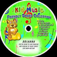~eBay~Friendly Songs Collection Personalized Kids Music CD
