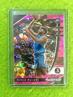 PATRICK WILLIAMS PINK ICE PRIZM ROOKIE CARD JERSEY #4 FSU RC BULLS 2020 Prizm DP