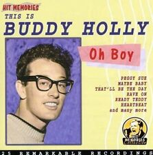 Buddy Holly Oh boy, this is Buddy Holly-25 remarkable recordings [CD]