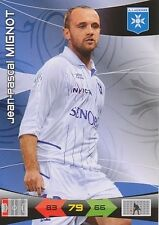 JEAN-PASCAL MIGNOT AJ.AUXERRE CARTE CARD ADRENALYN LIGUE 1 2011 PANINI T