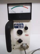 Narda Microline, Vintage TWA Airlines Tool, Electomagnetic Radiation Meter