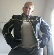 vitage Miss Sixty Mans leather biker jacket XXL Brown