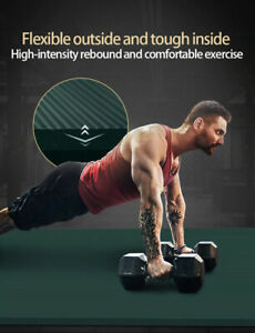 Extra Thick Yoga Mat High Quality Exercise Sport Mats For Gym Home Fitness