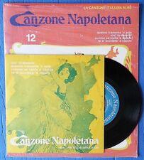 445 - 45 GIRI La Canzone Napoletana n.12 Canzone Italiana - Fabbri (con rivista)