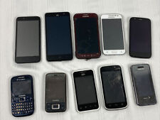 Lot of 10 Cellphones - Parts Or Repair - Cell Phones Smartphones - Clean Imei