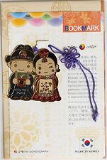 Traditional Korean reader Metal Bookmark - young kids02