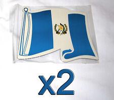 2 pack Guatemala Flag Magnets Fridge/Car/Locker UV protected Imán Bandera