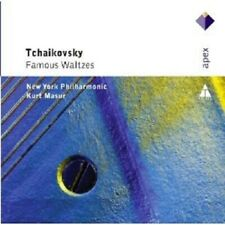 MASUR/NYPO - FAMOUS WALTZES  CD NEU ORCHESTER SINFONIE KLASSIK TSCHAIKOWSKY