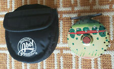 New Abel Creek #1 Ac1 Fly Fishing Reel - Custom Golden Trout Graphic - Rare *