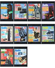 10 x Zeitschrift Audio 1991 HiFi Magazin