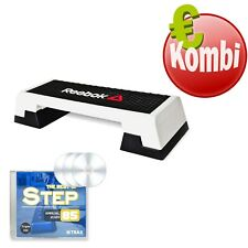 REEBOK Step Black & White mit 3 Step CDs Best of Annual 2020 Functional Training